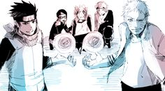 Rasengan to protect the kids - Bolt, Mitsuki, Sarada, Naruto, Konohamaru