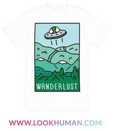 Show off your love of UFOs and traveling with this outer space inspired, alien believer's, wanderlust shirt! Let the aliens know that you are all packed and ready to get beamed up!