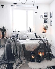 This is a Bedroom Interior Design Ideas. House is a private bedroom and is usually hidden from our guests. However, it is important to her, not only for comfort but also style. Much of our bedroom … Room Ideas Bedroom, Home Bedroom, Bedroom Decor, Bedrooms, Bedroom Wall, Night Bedroom, Mens Room Decor, Bedroom Furniture, Aesthetic Bedroom