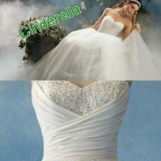 Disney wedding dresses- Cinderella 3