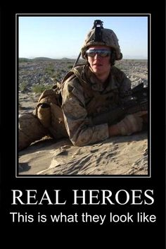 Real Hero! the ones who fight for their home and their own individual beliefs