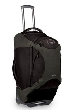 """Osprey Meridian 28 Inch/75L Pack, Black by Osprey. $328.95. 28""""/75 Liter Deluxe wheeled convertible pack. Retractable address/name card holder. Internal compression straps and mesh pockets. Zip and clip removable daypack. Easy access TSA friendly liquids/accessory pocket. Amazon.com                Nothing beats the convenience of a good travel bag, and the Osprey Meridian 28 delivers on several levels. Designed for the traveler who enjoys deluxe features, the ..."""
