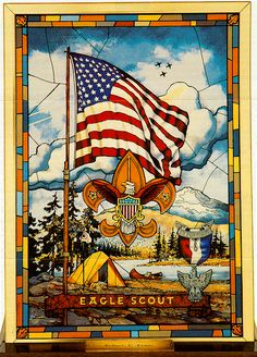 Poster or pg. elt. for COH? http://clipart.usscouts.org/library/BSA_Boy_Scout_Ranks/Eagle_Scout/eagle_stained_glass_color.gif