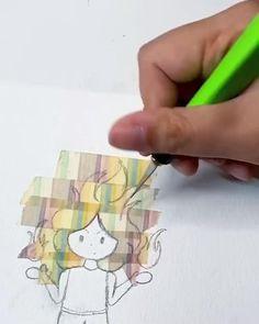 Washi Tape Uses, Washi Tape Cards, Washi Tape Planner, Bullet Journal Lettering Ideas, Bullet Journal Art, Bullet Journal Ideas Pages, Tape Wall Art, Tape Art, Birthday Scrapbook