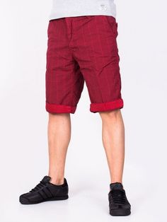 Pantaloni scurti barbati Popular Co. rosii Bermuda Shorts, Interior Design, Men, Fashion, Nest Design, Moda, Home Interior Design, Fashion Styles, Interior Designing