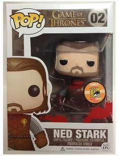 Amazon.com : Funko POP Game of Thrones: Headless Ned Stark Vinyl Figure (SDCC 2013 Exclusive) : Toys And Games : Toys & Games