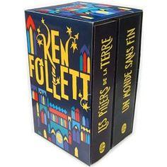 Les Pilliers de la Terre & Un monde sans fin - Ken Follett Ken Follett, Cube, Decor, Casket, Earth, Decoration, Decorating, Deco
