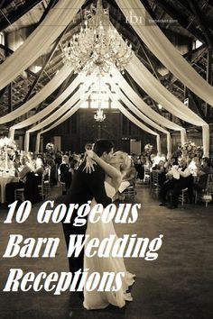 10 Gorgeous Barn Wedding Receptions | Rustic Folk Weddings