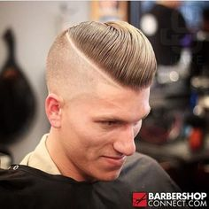 Undercuts beautiful male hair style to every angle. Undercuts has been around for a long time, but i Edgy Haircuts, Great Haircuts, Haircuts For Men, Slick Hairstyles, Classic Hairstyles, Undercut Fade Hairstyle, Disconnected Haircut, Beard Trend, Pompadour Style