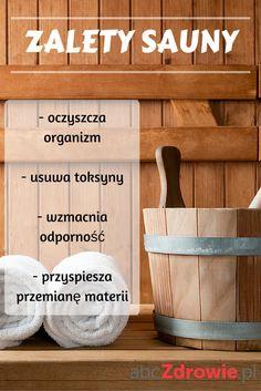 Lubicie saunę? Ma wiele dobrych dla zdrowia właściwości -oczyszcza organizm, usuwa toksyny i jest świetna dla odchudzających się osób!  #sauna #oczyszczanie #toksyny #odchudzanie #odporność Dry Sauna, Steam Sauna, Infrared Sauna Benefits, First Health, After Workout, Healthy Lifestyle, Weight Loss, Fitness, Sauna Steam Room