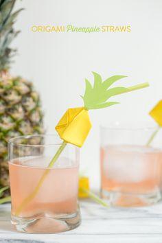 Aujourd'hui on fait la fête ! Enfin, on la prépare et le thème c'est l'ananas. On voit les pastèques partout en ce moment, cette fois-ci on part sur le jaune.