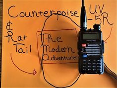 Counterpoise/Rat Tail For Ham Radio - YouTube