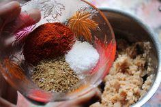 Soya Chunks Fry Recipe / Meal Maker Fry Recipe - Yummy Tummy Indian Food Recipes, Gourmet Recipes, Vegetarian Recipes, Snack Recipes, Dessert Recipes, Cooking Recipes, Chilli Recipes, Indian Snacks, Pie Recipes