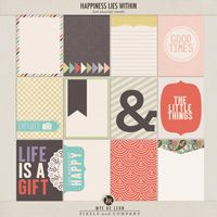 Happiness Lies Within | Journal Cards