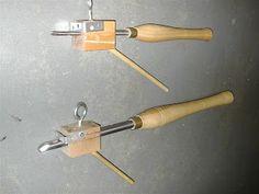 poor woodturner's sharpening jig