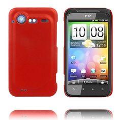 Hårdskal (Röd) HTC Incredible S-Skal