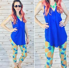 Styling your pineapple leggings!