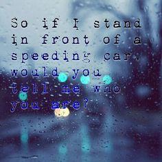 Speeding Cars lyrics - Walking on Cars