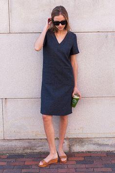 Viet Dress - Ink | Emerson Fry