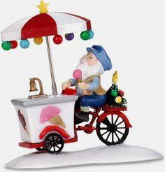 Icy Delights Cart, North Pole Village (#0289)