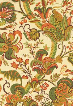 Gorgeous fabric....love the colors.