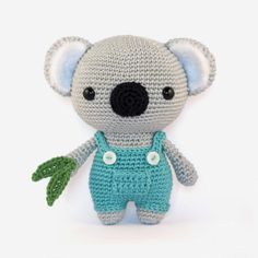 Cute Koala Bear - Amigurumipatterns.net   $5.50 pattern