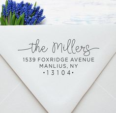 Return Address Stamp, Self Inking Address Stamp, Calligraphy Address Stamp, Wedding Address Stamp, P