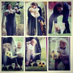 New photos of Prince George and Nanny Maria! Summer 2014