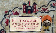 frosted pumpkin 2014 Once Upon A Time Sampler stitch along