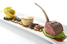 Tasting of Lamb, Roasted Rack of Lamb: Lamb Tortellini, Braised Lamb Pot Pie , Design Cuisine Caterers