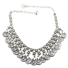 Turkish Sky High Silver Necklace