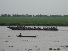 The River Nile, Malakal, South Sudan.