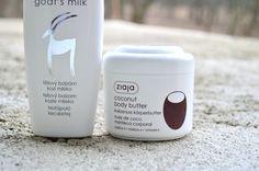 ZIAJA kokosové telové maslo a telový balzam kozie mlieko - KAMzaKRÁSOU.sk #cosmetics #beauty #ziaja #cream