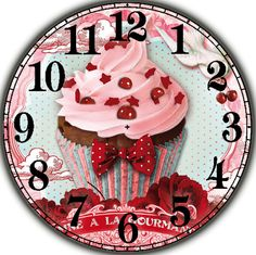 Diy Diamond Painting full square drill home decor Painting Cross Stitch Embroidery Clock Cake Mosaic picture Cheap Paintings, Home Decor Paintings, Cross Paintings, Clock Craft, Diy Clock, Decoupage Vintage, Mosaic Pictures, Pink Cupcakes, 5d Diamond Painting
