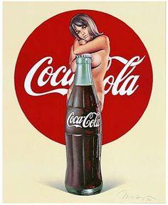 Coca Cola par Mel Ramos                                                       …
