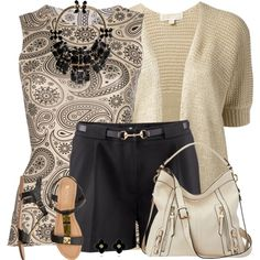 """Paisley Tank Top"" by daiscat on Polyvore"
