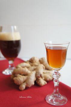 Delicious Titbits: Nalewka imbirówka na piwie i miodzie - degustacja :)