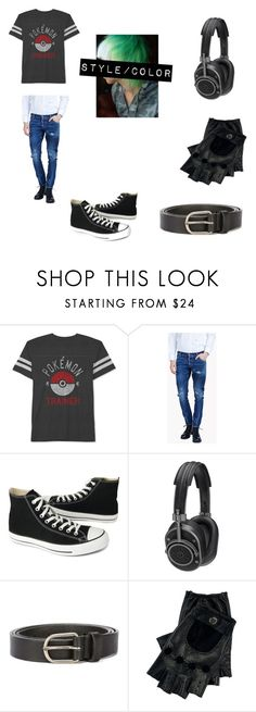 """Casual Ben Drowned"" by lily-poindexter ❤ liked on Polyvore featuring JEM, Dsquared2, Converse, Master & Dynamic, Ralph Lauren, men's fashion and menswear"