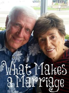 Always Learning: What Makes a Marriage