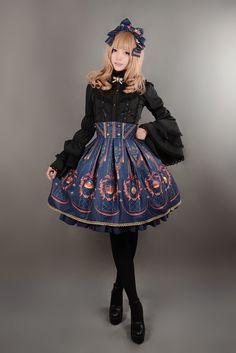 Neverland Lolita ~Elizabeth's Coronation~ Lolita Skirt - My Lolita Dress