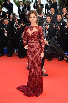 Cannes : Cheryl Cole en Zuhair Murad.