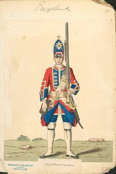 3rd foot guards grenadier 1742 - Google Search
