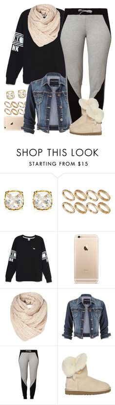 """""""Untitled #1535"""" by lulu-foreva ❤ liked on Polyvore featuring Juicy Couture, ASOS, Victoria's Secret, maurices, ESPRIT and UGG Australia"""
