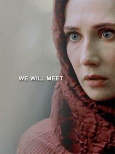 Jon and Melisandre