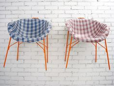 Ghana-must-go seats by Paola Navone.