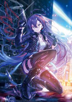Untitled – Site Today – About Anime Anime Girl Neko, Cool Anime Girl, Chica Anime Manga, Pretty Anime Girl, Beautiful Anime Girl, Anime Art Girl, Manga Girl, Anime Girls, Dark Anime Girl