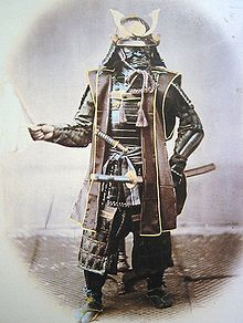 Feudal japan in the 1800s was a lot like feudal Europe: Most people were peasants living in rural areas. If you were lucky, however, you were born a samurai and the government paid you to live in an awesome castle, tax your peasants, and keep order. You also had the right to strike down any commoner who didn't show you respect and had the right to carry deadly swords.