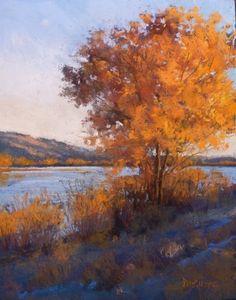Пейзажи пастелью. Margi Lucena