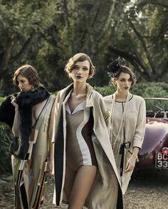 20s-Inspired Sorority Editorials : Ladies Magazine 'Gatsby Girls'