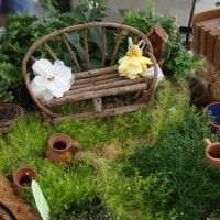 Fairy Garden... if anyone knows me... you know I love the idea of fairies